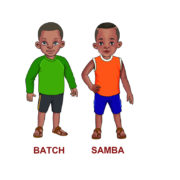 Samba-and-Batch-character-colored